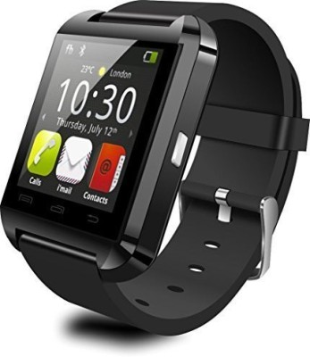cubee Smart Android Bracelet Watch Wireless Bluetooth Compatible with All Android Devices Smartwatch (Black Strap)