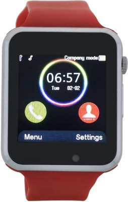 tnms bluetooth01 Smartwatch (Red Strap)