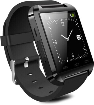 Ocean I U8-1 Black Smartwatch (Black Strap)