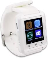 "Wonder World â""¢ U8 Plus New Fashion Luxury Bluetooth Wearable Devices Sports White Smartwatch (White Strap)"