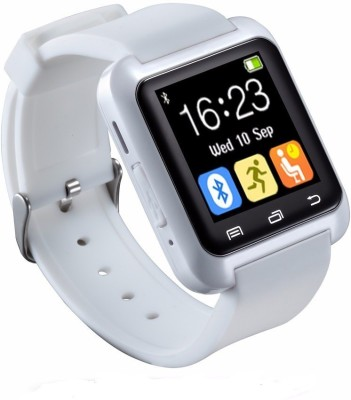 MEZIRE U8 Bluetooth Smartwatch (White Strap)