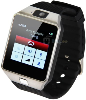 persona T30 black Bluetooth Notification Smartwatch (Black Strap)