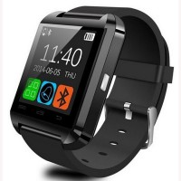 WDS Smart U8 B Compatible With I Phone And All Android Devices Nluetootj Black Smartwatch (Multicolor Strap)