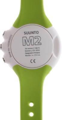 Suunto SS020648000 M2 Digital Lime Smartwatch (Green Strap)