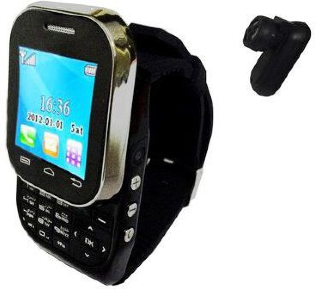 Kenxinda Mobile Jet Black Smartwatch Price in India