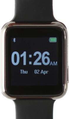 Arya uWear SW01 Black Smartwatch (Black Strap)