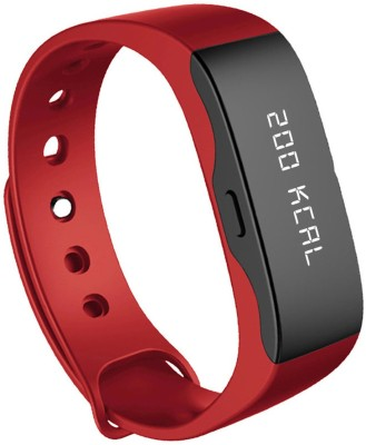 Portronics Yogg Red Smartwatch (Red Strap)