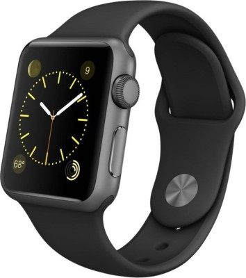 Apple MJ2X2HN/A Black Smartwatch (Black Strap)