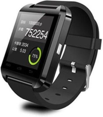 DGI W990 Black Smartwatch (Black Strap 2