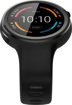 Motorola Moto 360 Sport Smartwatch (Black Strap)