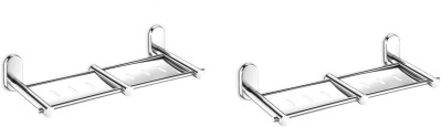 Dazzle-Double-Soap-Dish-(High-Quality-304-Grade-Stainless-)