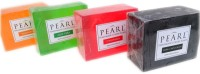 Pearl Handmade Soap (Pack Of 4) (500 G)