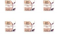 Abeers Khadi Pure Essence Coconut Milk Soap (Pack Of 6) 110 Gm Each (660 G)