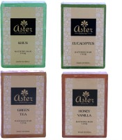 Aster Luxury Assorted Bathing Combo Pack Of 4 (500 G)
