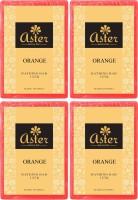 Aster Luxury Orange Bathing Bar 125g - Pack Of 4 (500 G)