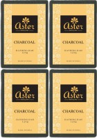 Aster Luxury Charcoal Bathing Bar 125g - Pack Of 4 (125 G)
