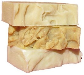 Natures Bar Exfoliating Soap Stax: Tea Tree Face Orange Ginger Body and Peppermint Foot