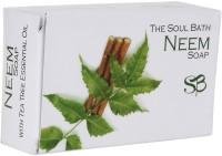 SOUL BATH Handmade Neem And Tea Tree Soap (100 G)