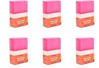 Abeers Khadi Pure Essence Winter Rose Soap (Pack Of 6) 100 Gm Each (600 G)