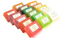 Khadi Assorted Natural Handmade Soaps - Best Of Khadi (Pack Of 16) (2000 G)