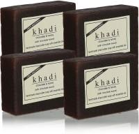 Khadi Chocolate Honey With Chocolate Sauce Soap (Set Of 4) (100 G)