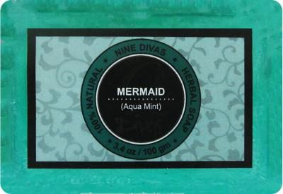 Nine Divas Mermaid Peppermint Herbal Soap