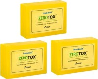 Healthbuddy Zerotox Handmade Soap Lemon, 3 Packs Of 125 Gm Each (375 G)