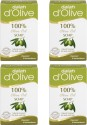 Dalan Pure Olive Oil Soap, 150g X 4 Pcs. - 600 G