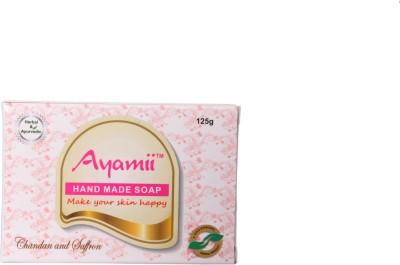 Ayamii Chandan & Saffron Handmade Soap