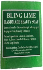 DBLB Bling Lime Handmade Natural Soap