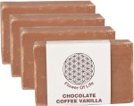 Flower of Life Chocolate Coffee Vanilla Soap Pack