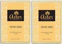 Aster Luxury Avocado Bathing Bar 125g - Pack Of 2 (250 G)