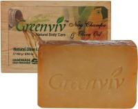 Greenviv Natural Nag Champa & Olive Oil Soap (100 G)