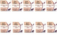 Abeers Khadi Pure Essence Coconut Milk Soap (Pack Of 10) 110 Gm Each (1100 G)