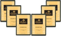 Aster Luxury Charcoal Bathing Bar 125g - Pack Of 6 (125 G)