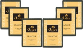 Aster Luxury Charcoal Bathing Bar 125g - Pack of 6