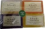Khadi Handmade Soap Combo 2 Pack of 4