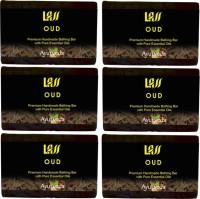 Lass Naturals Oud Handmade Set Of 6 (750 G)