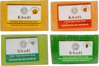 Khadi Natural Handmade Soap Combo (500 G)