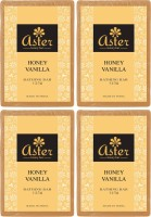 Aster Luxury Honey Vanilla Bathing Bar 125g - Pack Of 4 (500 G)