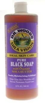Dr. Woods Organic Shea Butter Pure Black Castile Soap