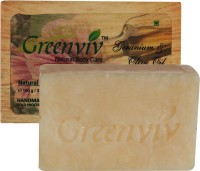 Greenviv Natural Geranium & Olive Oil Soap (100 G)