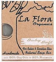 La Flora Organics Baby Soft Handmade Soap Bar For Babies & Sensitive Skin (100 G)