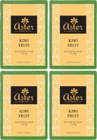 Aster Luxury Kiwi Fruit Handmade Soap 125g - Pack Of 4 (500 G)