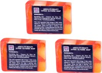 Absolute Beauty Citrus Glycerin Whitening Glow Skin Care Handmade Fairness Soap Combo-3 (100 G)