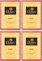 Aster Luxury Rose Bathing Bar 125g - Pack Of 4 (500 G)