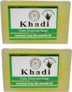 Khadi Pure Aloevera Soap Pack Of 2
