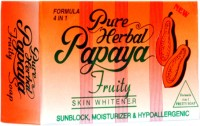 Pure Papaya Herbal Fruit Soap Skin Fairness Soap (135 G)