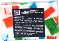 Absolute Beauty Goat Milk Whitening Glow Skin Care Handmade Bathing Fairness Soap (100 G)