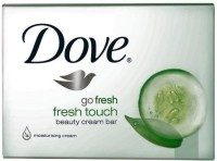 Dove Go Fresh Cool Moisture Beauty Bar Cucumber And Green Tea Scent(Pack Of 12 Bars) (100 G)